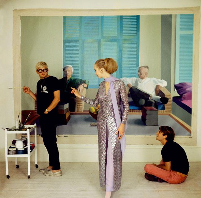 David-Hockney-Peter-Schlesinger-and-Maudie-James