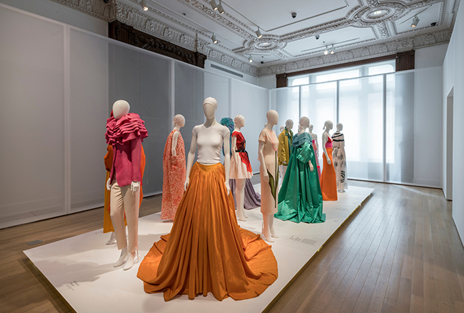 Installation view of the exhibition Isaac Mizrahi: An Unruly History, March 18-August 7, 2016. The Jewish Museum, NY. Photo by: David Heald.